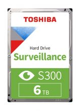 TOSHIBA - HDWT360UZSVA - S300 6TB VIDEO STREAMING HARD DRIVE