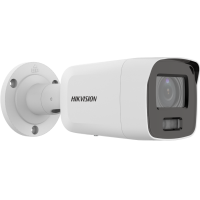 HIKVISION DS-2CD2087G2-LU - AcuSense 8MP fixed lens ColorVu bullet camera with audio