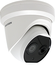 Hikvision DS-2TD1217B-3/PA - 3mm Temperature Scanning Thermal Turret Camera