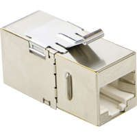 Excel Category 6A (FTP) 180 Degree Keystone Through Coupler