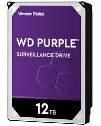 Western Digital WD121PURZ - 12 TB HDD - PURPLE SURVEILLANCE