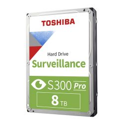 TOSHIBA HDWT380UZSVA  - S300 8TB VIDEO STREAMING HARD DRIVE