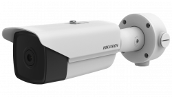 Hikvision DS-2TD1217-3/V1 3.1mm fixed lens thermal network turret camera with built in Bi-spectrum