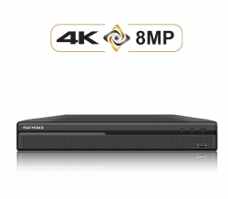 SPRO DHDVR24-B4-V2 16 Channels 5in1 8MP POC Tripwire Intrusion Face detection POC Audio over coax