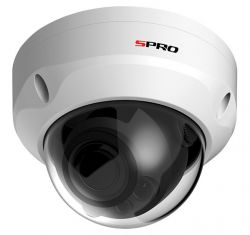 SPRO DHD50/28RV-W-4 - 5MP DOME, 4 IN 1, 2.8MM, SMART IR, 30M IR, VANDAL RESISTANT