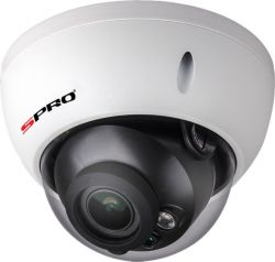 SPRO DHIPD40/2713RV-W - 4MP, 2.7-13MM, DOME, SMART IR, POE, MOTION DETECTION, 30M IR, WHITE