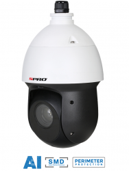 SPRO DHIPPTZ40/25XR - 4MP IP PTZ, 25 X OPTICAL ZOOM, 100 IR, SMD, STARLIGHT, ARTIFICIAL INTELLIGENCE