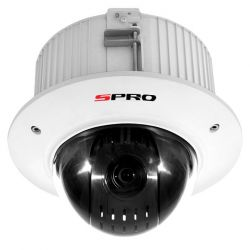 SPRO DHPTZ20/12X-F - 1080P HDCVI PTZ,STARLIGHT, 12X OPTICAL ZOOM,FLUSH MOUNT