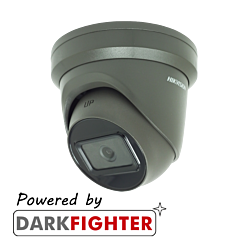 Hikvision DS-2CD2365G1-I 6MP fixed lens Darkfighter turret camera with IR-Grey-2.8 mm