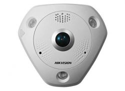 Hikvision DS-2CD63C5G0-IVS - 12 MP IR Network Fisheye Camera