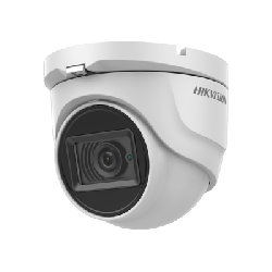 Hikvision DS-2CE76D0T-ITMFS 2MP fixed lens turret camera with audio (built in mic)