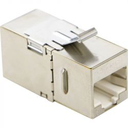 Excel Category 6 (FTP) 180 Degree Keystone Through Coupler