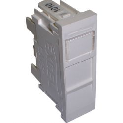 Excel Category 5e (UTP) Unscreened Single Shuttered RJ45 Module