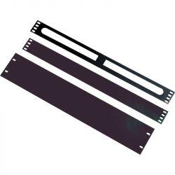 Excel 2U Blanking Plate - Black