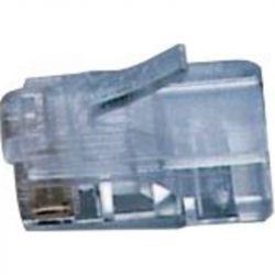 Excel COMM Grade RJ11 Plug (Flat Stranded TP) Beige (6 Pin)