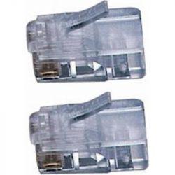Excel RJ45 Category 5e Crimp UTP Plug (Solid) - Pack of 100