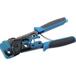 Excel Telemaster RJ45/RJ11 Plug Crimp Tool