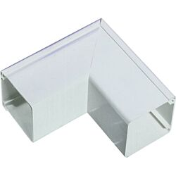 Excel Mini Trunking Fittings 16x16mm Flat Angle (pack of 10)