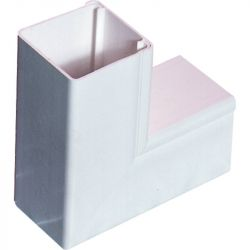 Excel Mini Trunking Fittings 40x40mm Internal Angle (pack of 10)