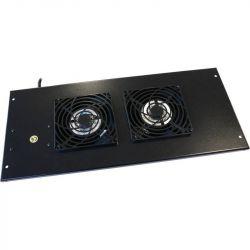 Excel Environ Roof Mount Fan Tray 2 Way Fan incl. Detachable UK Power Lead - Black