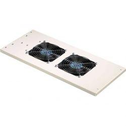 Excel Environ Roof Mount Fan Tray 2 Way Fan incl. Detachable UK Power Lead - Grey White