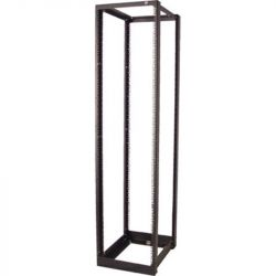 Excel 45U Adjustable ServerRack 750-900mm, Black, Flatpack