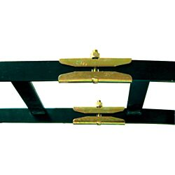 Excel 11301-701 CPI Runway Butt Splice Kit - Horizontal, 2 (50.8) Stringer, Black
