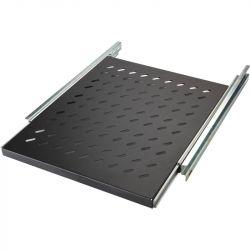 Excel Environ Sliding Shelves - 350mm depth (Mounting Depth: 375mm-660mm) - Grey White