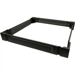 Excel Environ Plinth 800mm Wide x 1200mm Deep for SR Racks - Black