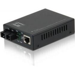Excel RJ45 to SC Gigabit Media Converter, Multi-Mode Fiber, 550m