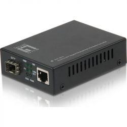 Excel RJ45 to SFP Gigabit Media Converter, PoE PD