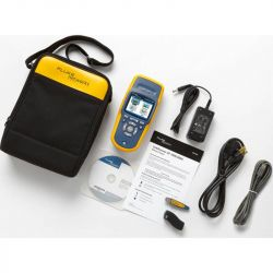 Excel Includes LinkRunner AT 2000 with Li-ion battery, Wireview Cable ID #1, LinkRunner Manager software CD, USB cable, RJ45 coupler, Getting Started Guide and soft case.