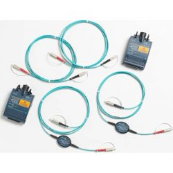 Excel Multimode Encircled Flux (EF) Test Reference Cord (TRC) kit for testing 50µm LC Fibers