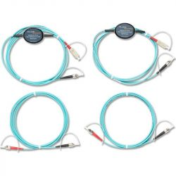 Excel Multimode Encircled Flux (EF) Test Reference Cord (TRC) kit for testing 50µm ST Fibers