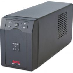 Excel APC Smart-UPS SC 260W/450VA, 4 IEC 320 C13 & 2 IEC Jumpers output, Tower