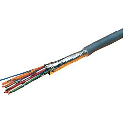 Excel Grey 6 Core Cable - 100 Metre Reel
