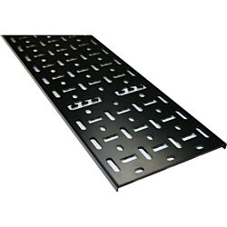 Excel Environ Cable Tray (2pc) 150mm - 24U - Black