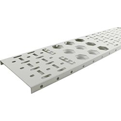 Excel Environ Cable Tray (2pc) 150mm - 24U - Grey White