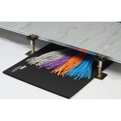 Excel Cablelay Floor Matting 13mm x 300mm x 20M Class O
