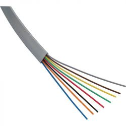 Excel 4 Core Flat MOD Wiring Cable x 1m