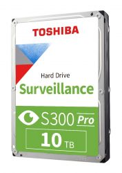 TOSHIBA - HDWT31AUZSVA - S300 10TB VIDEO STREAMING HARD DRIVE