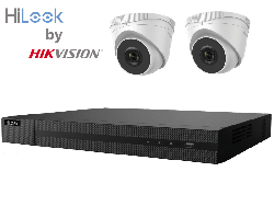 HiLook by Hikvision 1080P Full HD 4Ch IP Kit with 2 x 2MP IP Turret Cameras