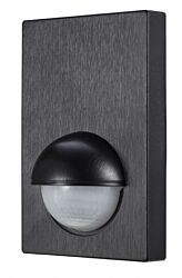 Alia Wall panel PIR sens with override Black
