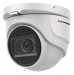 SPRO HVD80/28RW/15M-4 - 8MP DOME, 2.8MM, SMART IR, 30M IR, WHITE