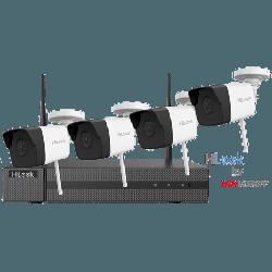 HiLook IK-4142B-MH/W - 4 Channel 2 MP Wi-Fi Kit