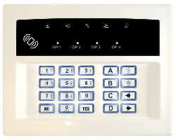Pyronix LEDRKP/WHITE-WE - Pyronix Wireless Two-Way Keypad Arming Station White