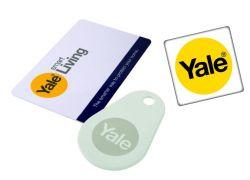 Yale P-YD-01-CON-RFIDM - 1 Key Card, 1 Key Tag & 1 Phone tag