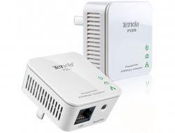 2 x Pack Tenda P200 200Mbps Mini PowerLine  Adapter
