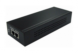 Excel Indoor single Port PoE Injector Gigabit, 95W, NA power cord, for use with H4IR PTZ