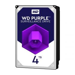 Western Digital WD40PURZ - 4 TB HDD - PURPLE SURVEILLANCE